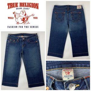 True Religion Crop Capri Jeans 👖